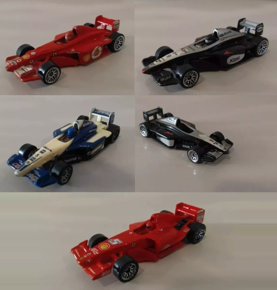 Lote Miniatura Hot Wheels F1 Ferrari Williams Mclaren 1/64