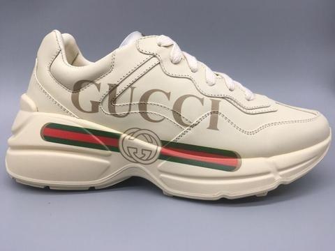 Tênis Gucci Rhyton C/ Logo Frete Grátis