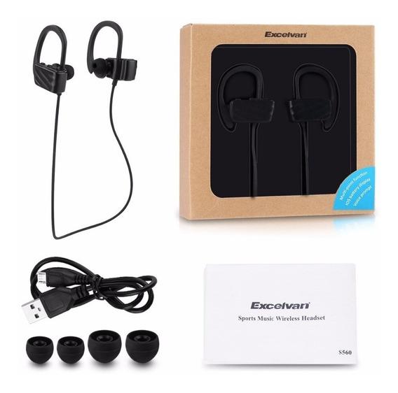 Fone Bluetooth Excelvan Esporte/sport Intra Auricular