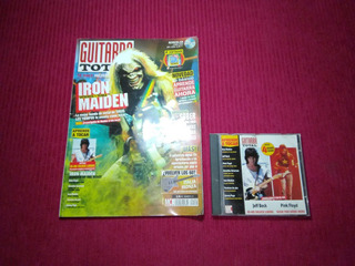 Revista Guitarra Total + Cd #51 Iron Maiden