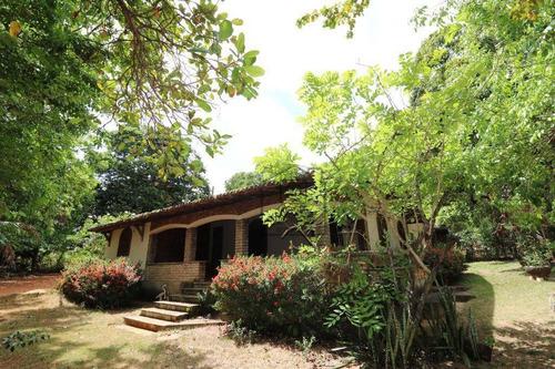 Granja Com 85 Mil M² - Casa Principal Com 3 Dormitórios À Venda - Emaús - Parnamirim/rn - Ch0002 - Ch0002