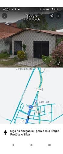 Imagem 1 de 1 de Vende-se Casa Com Área Total De 400m, Área Construída 184m