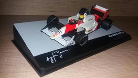 Miniatura Mclaren Senna 1:43 Mp4/4 1988 Lendas Brasileiras