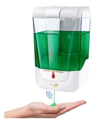 Imagen 1 de 10 de Dispensador Automático De Jabón De Gel Antibacteriano 700ml