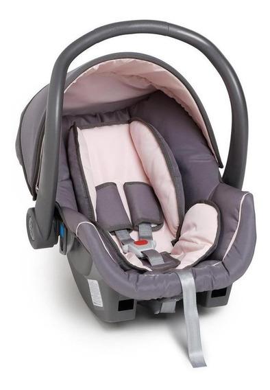 Bebê conforto Galzerano Cocoon Grafite/Rosa