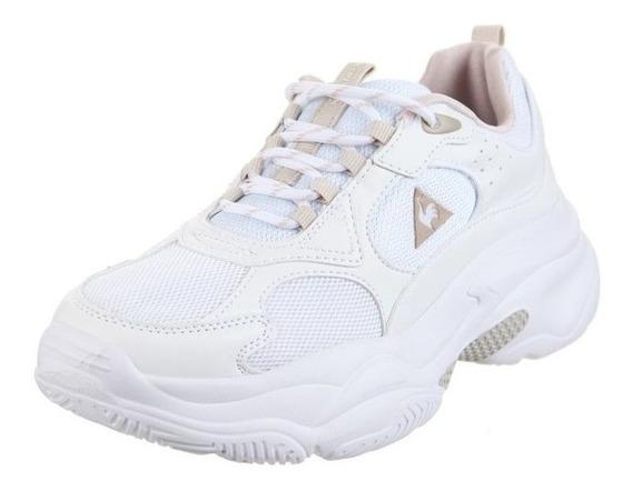 Zapatillas Le Coq Sportif Bayona Mujer White Dxt Envío