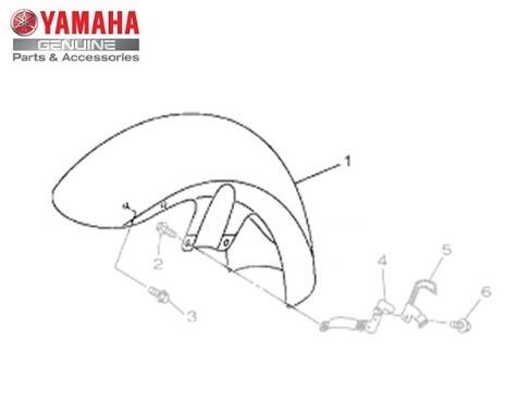 Para-lama Dianteiro Vermelho Yamaha Xvs Midnight950 Original