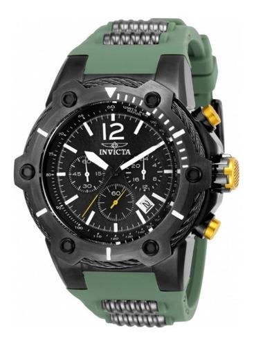 Relógio Invicta Bolt Men 25471 Original Militar Verde Preto