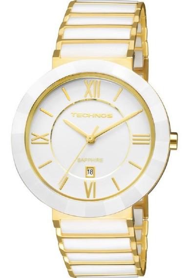 Relógio Technos Elegance Ceramic Sapphire - 2015ce/4b