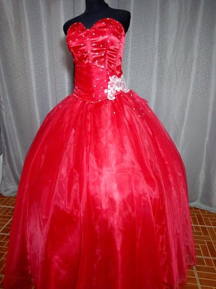 Vestido De Xv Años Color Rojo