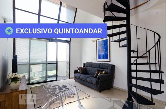 Apartamento No 6º Andar Mobiliado Com 1 Dormitório E 1 Garagem - Id: 892957243 - 257243