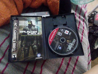 Juego Ps2 Splinter Cell
