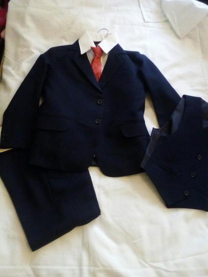 Traje Formal Niño Azul Marino