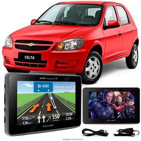 Navegador Gps Automotivo Celta Tela 4.3 Touch Voz Oferta
