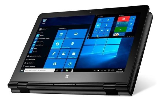 Notebook Touchscreen 2 Em 1 Quad.ram 02gb Win 10 Nf+garantia