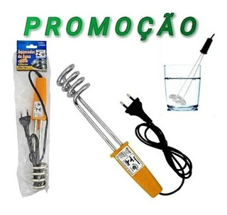 2 Aquecedor Eletrico De Agua 1000w 127v