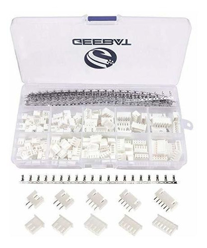 Geebat 460pcs Kit De Conector Jst-xh De 2.54 Mm Con Conector