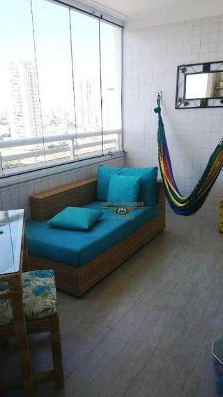 Apartamento Com 2 Dormitórios Para Alugar, 98 M² Por R$ 2.700/mês - Chácara Califórnia - São Paulo/sp - Ap2287