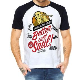 Camiseta Raglan - Breaking Bad - Better Call Saul