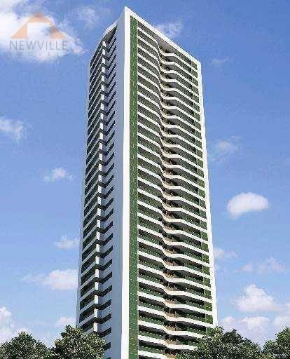 Apartamento Com 3 Quartos Para Alugar, 101 M² Por R$ 4.635/mês - Boa Viagem - Recife/pe - Ap2206