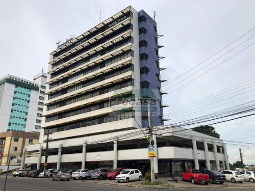 Sala Comercial De Esquina No Ed. Atrium Na Frente Do Fórum Para Alugar, 44 M² Por R$ 2.550/mês - São Francisco - Manaus/am - Ideal Para Advogados - Sa0357