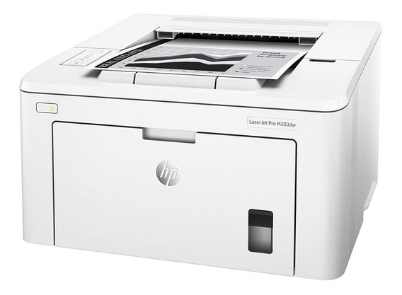 Impresora Laser Hp M203dw Blanco Y Negro Wifi Nueva