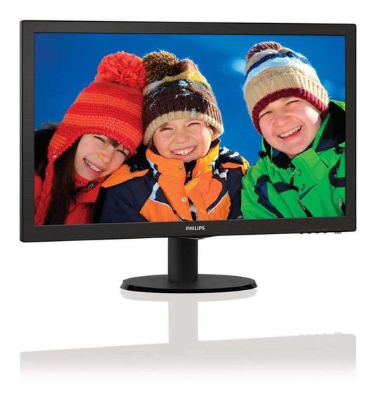 Monitor Philips 223v5l 21,5 Polegadas