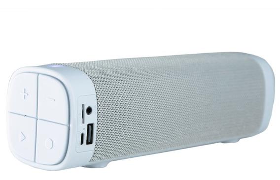 Caixa De Som Bluetooth Portátil Mybomber Smart Branco 10w