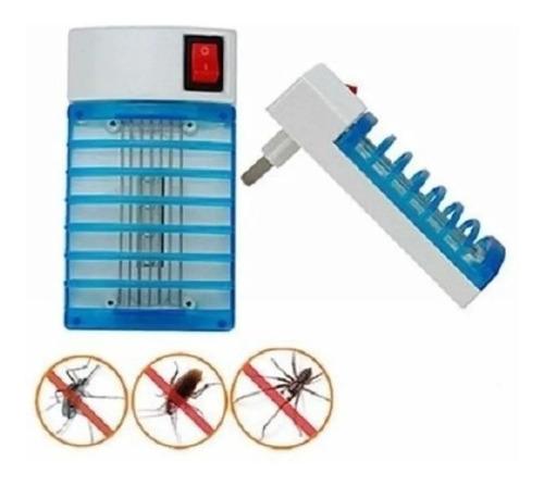 Lampara Mata Moscas Y Mosquitos Electrico, Enchufas Y Listo