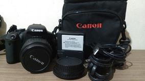 Câmera Canon 600d/t3i + Lente 18-55mm + Acessórios 9 K