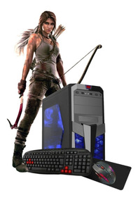 Pc Gamer I5 4460s 4ºgeração 8gb Hd Ssd Gt710 Kit Gamer Novo!