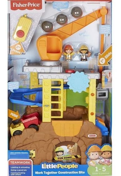 Set De Construcción Little People® Work Together Envio Gra