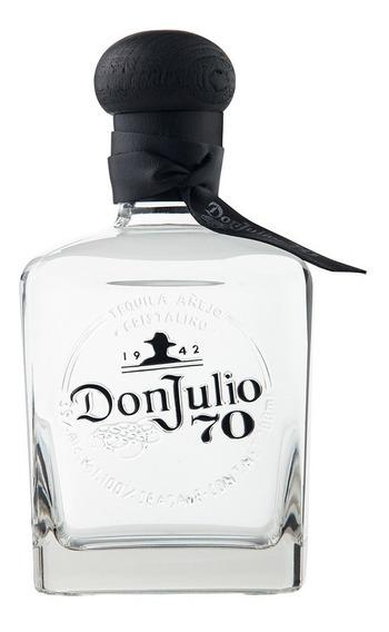 Tequila Don Julio Añejo 70 Cristalino De 700ml.