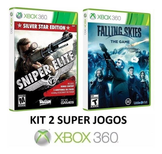 Sniper Elite V2 + Falling Skies - Midia Fisica - Xbox 360
