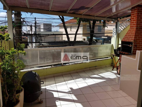 Sobrado Com 4 Dormitórios À Venda, 160 M² Por R$ 690.000,00 - Parada Inglesa - São Paulo/sp - So0188