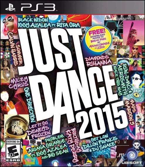 Jogo Game Just Dance 2015 Mídia Física Original Lacrado Ps3