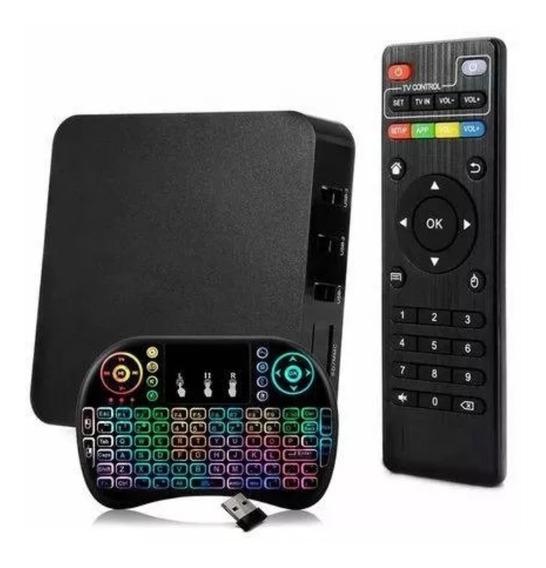 Aparelho Conversor Smart Box Tv 16 Com 1 Teclado De Brinde
