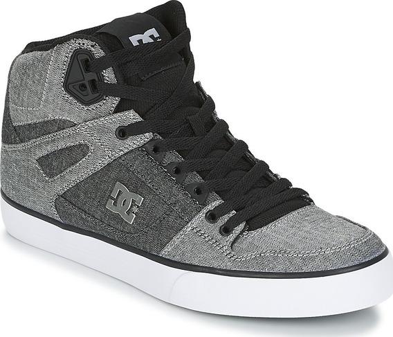 Tenis Para Caballero Dc Shoes Pure Ht Gris Negro