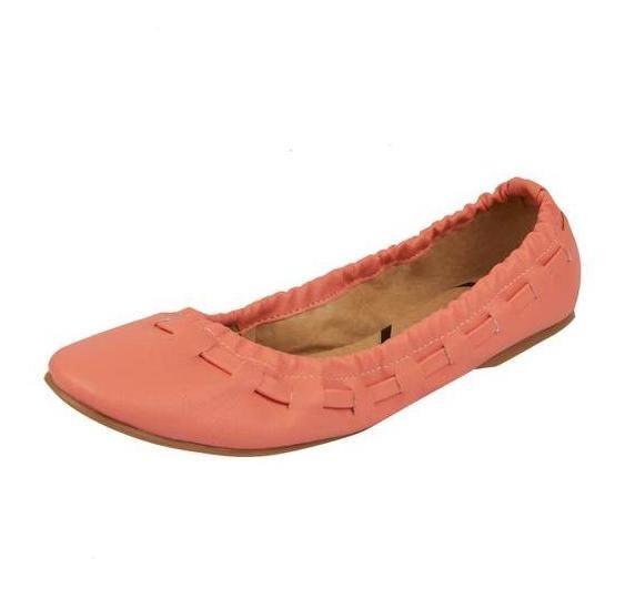 Zapatos Valerina Dama Coral Mundo Terra 015782