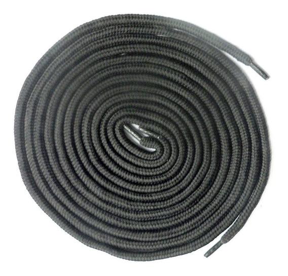 Par Cordones Reforzados Negros 160cm Zapatillas Patin E3522