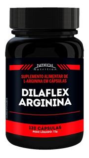 Dilaflex - 120 Cápsulas - Nitech Nutrition - Dilatex