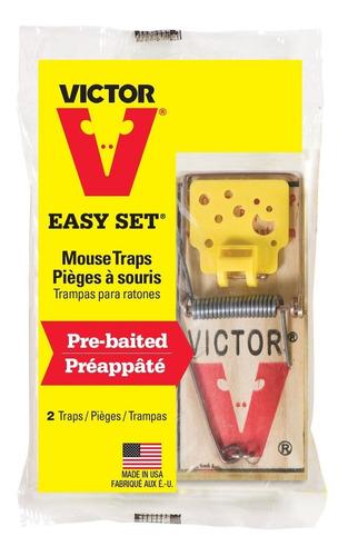 Trampa Para Ratones Pre-cebada Pack X2 Control De Plagas