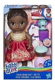 Baby Alive Festa Surpresa Negra Hasbro