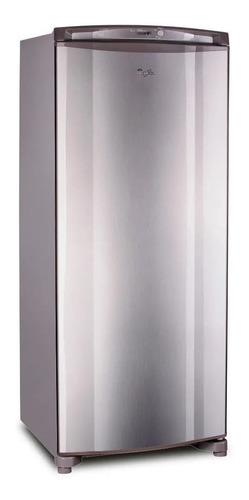 Freezer vertical Whirlpool WVU27 inox 231L 220V