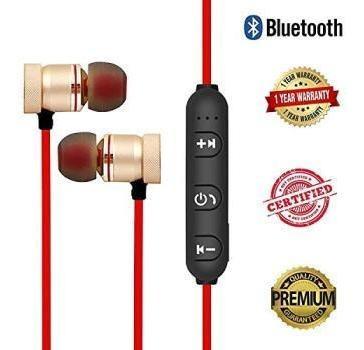 Kit 10 Fone De Ouvido Magnético Bluetooth 4.2 Esportivo S/fi
