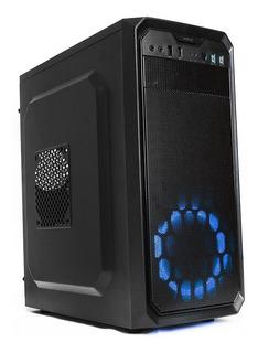 Gabinete Gamer Yeyian Stahl 900 Micro Atx, Negro Ynh-sl900