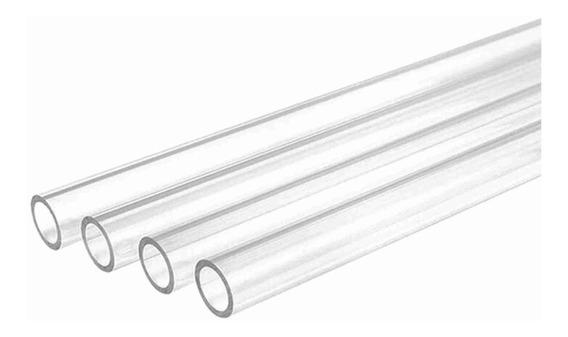 Tubo Rígido 14mm Para Water Cooler 4 Peças De 500mm