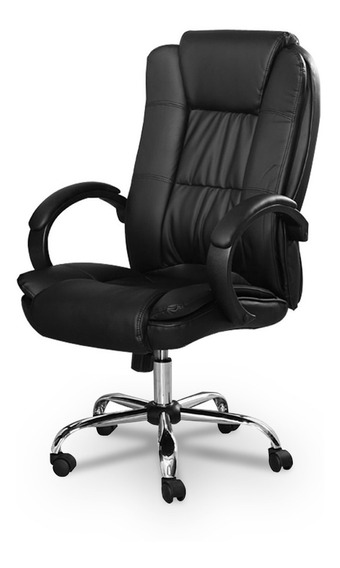 Cadeira Presidente Escritório Almofadada Lms-by-8-661