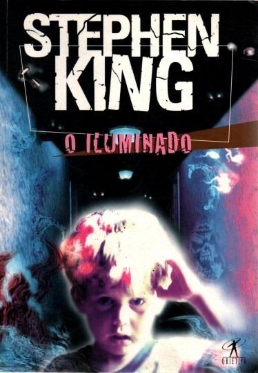 Livro O Iluminado Stephen King Ed. 1999
