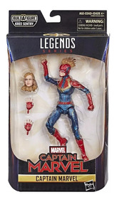 Figure Articulado Capitain Capitã Marvel Legends Series
